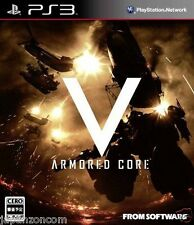 Used PS3 Armored Core V  SONY PLAYSTATION 3 JAPAN JAPANESE IMPORT
