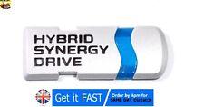 Hybride toyota badge emblème logo en métal 3D autocollant yaris camry corolla prius S106