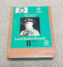 VINTAGE 1972 STORY OF LORD BADEN POWELL 8 TRACK STEREO - BOY SCOUTS