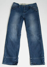 MENS SUPERDRY JEANS BREWSTER LOW RISE DARK BLUE NAVY SIZE W32 L32 EXC
