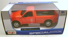 1999 '99 FORD F-350 SUPER DUTY PICKUP TRUCK SPECIAL EDITION MAISTO 1/27 DIECAST