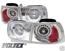 1996-2000 HONDA CIVIC 2DR LED TAIL LIGHT BAR LIGHTBAR LAMP CHROME