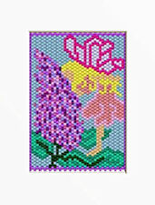 Fairy Among The Lilacs Beaded Banner Pattern
