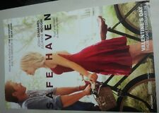 "Safe Haven Movie Poster 11""x17"" From The Producer Of  The Notebook"