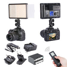 Li-ion battery + 4IN1 BATTERY CHARGER Sony F970 + 308C LED VIDEO LIGHT