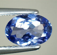 BRILLANTE TANZANITE NATURALE INTRATTATA  IN BLISTER CT. 1.06 VS  VVS OVALE
