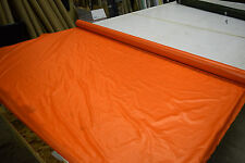 """2NDS FABRIC ORANGE 1.35 OZ NYLON RIPSTOP 30D DWR FABRIC 64"""" SOLD BY THE YARD"""