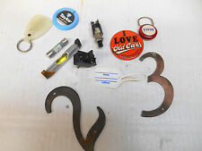 Junk Drawer Lot Key Chains Car Truck Electrical Parts Accessories Mechanic's