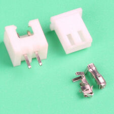 2.0MM JST PH 2.0 2-Pin Connector plug Male and Female with Crimps 100 Sets