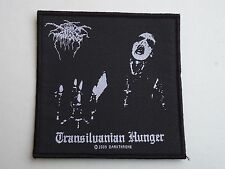 DARKTHRONE TRANSILVANIAN HUNGER WOVEN PATCH