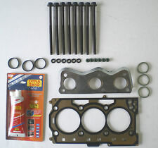 HEAD GASKET SET & BOLTS IBIZA FABIA  VW POLO 1.2 3 CYL 6V 2002 on 54 60 BHP VRS