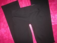 Victoria's Secret PiNK Yoga Pants Foldover Boot Leggings S/LONG TALL Black NWT S