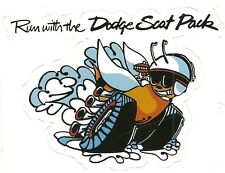 DODGE SCAT PACK Sticker Decal