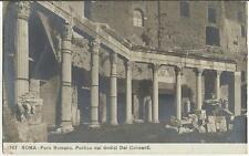 83942 ANTICA FOTO CARTOLINA DI ROMA 1912 SPEDITA