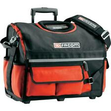 FACOM TOOLS FEBRUARY SALE TOTE BAG TROLLEY TOOLBOX MATERIAL IN RED ON WHEELS !