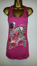 NEW FCL PINK  MUSCLE BACK  VEST TOP SIZE 10 /12