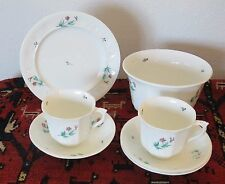 Antique Bridgewood and Son Mid 19th Century Group Cups Saucers Waste Bowl Plate