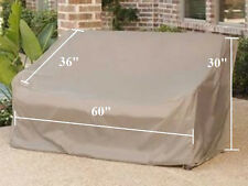 """Patio Garden  Love Seat Storage Cover Up to 60"""" L. Outdoor Furniture Cover.New"""
