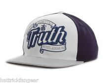 TRUTH ROOTS SNAPBACK CAP/HAT BLUE/WHITE - OSFM