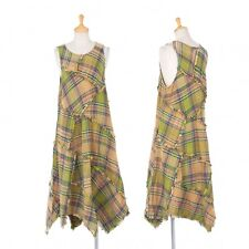 TSUMORI CHISATO Plaid Sleevesless Dress Size M(K-47842)