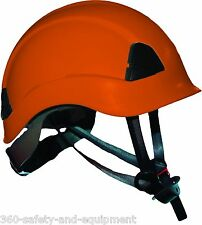 Arborist Climbing Safety Helmet Meets ANSI Tree Climbers Helmet Orange