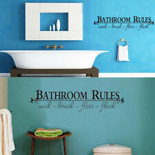 New Room Art DIY Removable Wall Sticker Mural Home Decal Decor For Bathroom
