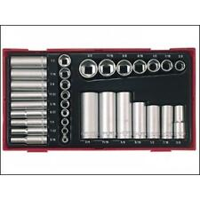 Teng TTAF32 1/4″ & 3/8″ Drive AF (Imperial) Socket Set in Tool Box Module Tray
