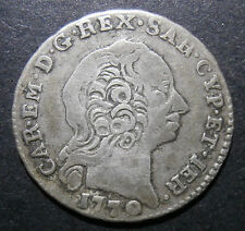 Italian Sardinia - Reale 1770 - much scarcer than Krause implies - Italy C#40