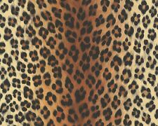 Papel pintado Leopard leo-Optik naranja negros as Creation 6630-16 Dekora naturaleza 6 (2,43