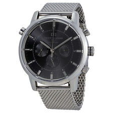 Tommy Hilfiger Gray Dial Mesh Stainless Steel Mens Watch 1790877