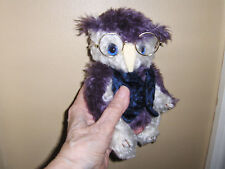 """Artist collectable 7 1/2""""  Isaac Owl  jointed, German mohair, LE."""