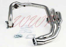 Performance Stainless Steel Exhaust Headers Kit For 97-05 Impreza 2.5L RS EJ25
