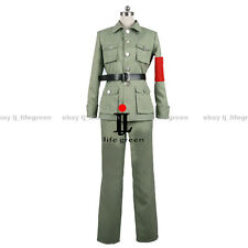 Hetalia: Axis Powers China Wand Yao Uniform COS Clothing Cosplay Costume