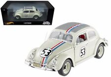 "Hot Wheels Disney The Love Bug ""Herbie"" 1/18 1962 Volkswagen Beetle #53"