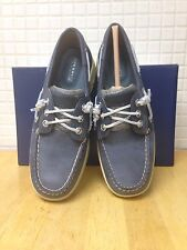 Sperry Top-Sider, Ivyfish, Navy/Silver, Size 7
