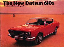 1973 Datsun 610 Original Car Sales Brochure