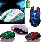 2.4GHz 2400DPI Wireless 7D Rechargeable 6 Buttons Optical Pro Gaming Mouse Mice