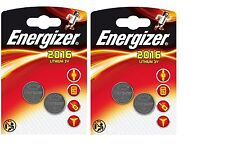 4 Pilas Energizer Litio CR2016 3 V