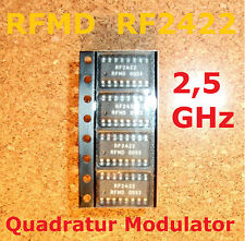 4 PC. rf2422 rfmd 2.5ghz Direct modulatore quadrature, SOIC - 16