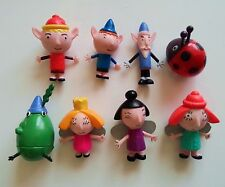 8 Pcs/set lot  Ben and Holly's Little Kingdom Figurines Figures