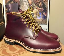 WESCO RJL LTD   Foot Patrol Boot Horween Horsehide Color 8  Chromexcel Sz 9 D