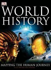 World History Atlas by  Dorling Kindersley 2005 very large Hard Cover
