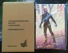 "HOT TOYS Electro 1/6 sixth scale 12"" figure NEW MMS246 Amazing Spider-Man 2"