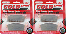 GOLDFREN FRONT BRAKE PADS (2xSets) For: TRIUMPH TIGER 955i ' 2000 2001 2002