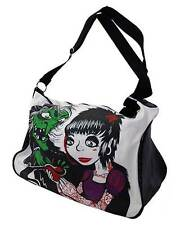 Darkside Ropa Hag Apple Snow White Witch Cartoon cremallera, bolsa de equipaje 45cm