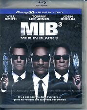 MEN IN BLACK 3   bluray 3D + bluray + dvd ref 0209164