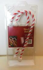 "Stocking Holder Candy Canes Set of 2 9"" Still in Package Bed Bath and Beyond"