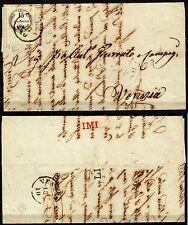 435 - Antichi Stati, Lombardo Veneto - 15 cent marca da bollo su lettera, 1855