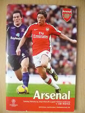 2008/09 UEFA Champions' League - ARSENAL v AS ROMA~ Official Programme