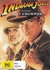 INDIANA JONES AND THE LAST CRUSADE Harrison Ford / Sean Connery DVD R4